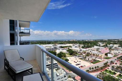 Vistas del balcón