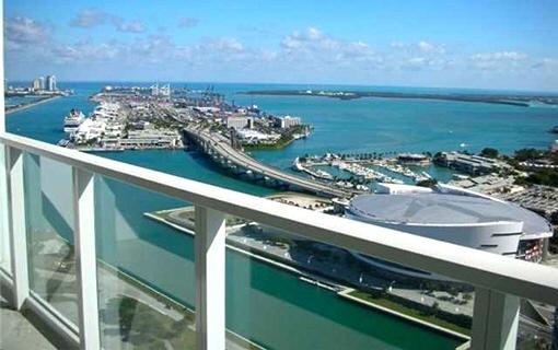 Apartamento loft en primera línea de baya en Miami