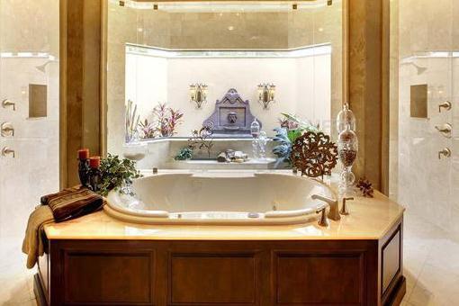 Baño con gran bañera