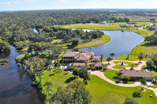 Magnífica villa junto al río Manatee