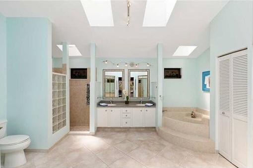 Baño espléndido con ducha