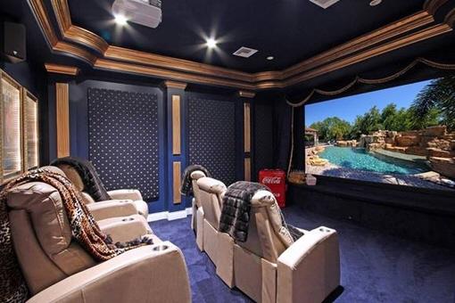 Sala de cinema privada