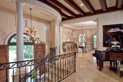 Interior elegante y con gentil